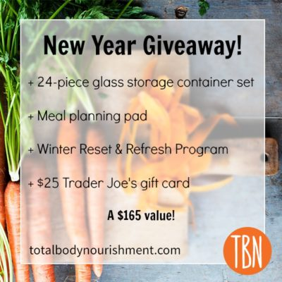 A Meal Planner's Dream + New Year Giveaway!