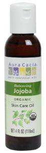 Aura Cacia Organic Balancing Jojoba Skin Care Oil