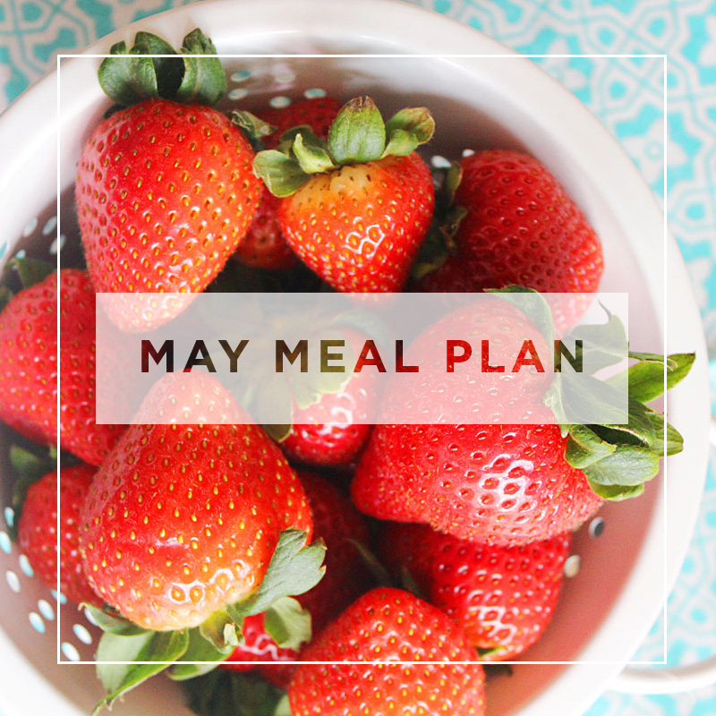Total Body Nourishment May Meal Plan