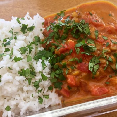 Indian-Spiced Lentils
