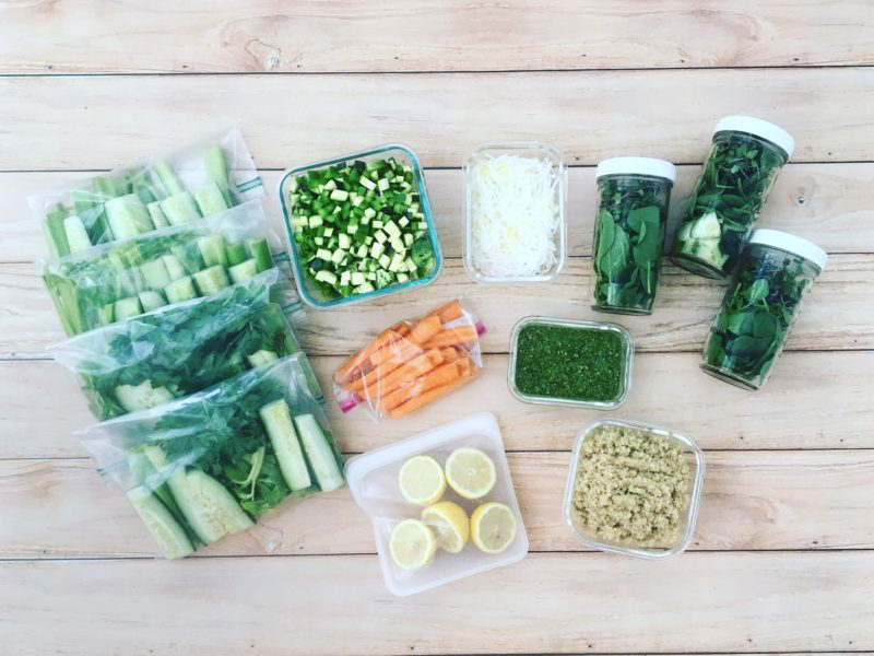 plant-based meal prep